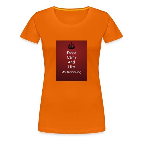 Mountainbike tröja - Premium-T-shirt dam
