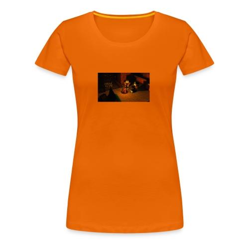 Minecraft Caming - Frauen Premium T-Shirt