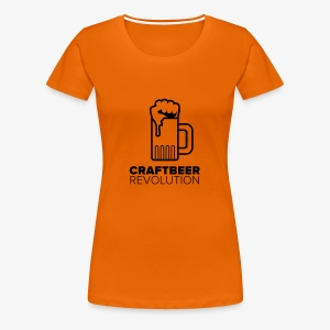 Craftbeer Revolution - Frauen Premium T-Shirt