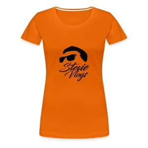 Stevie Vlogs Logo - Women's Premium T-Shirt