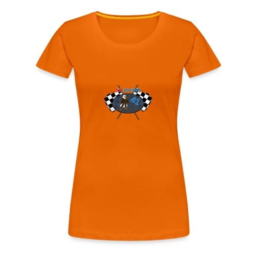 SJL-Racing logo - Vrouwen Premium T-shirt