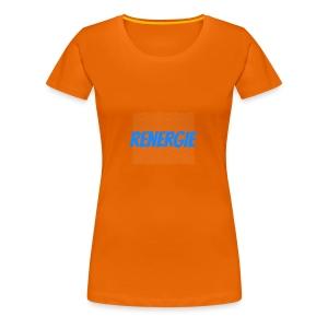 cap renergie - Vrouwen Premium T-shirt