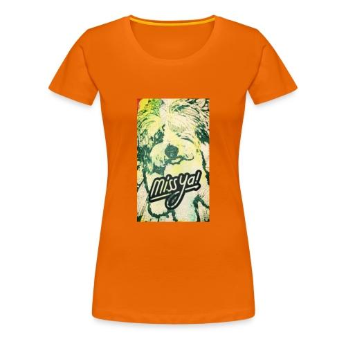 Musste, süsser Hund - Frauen Premium T-Shirt