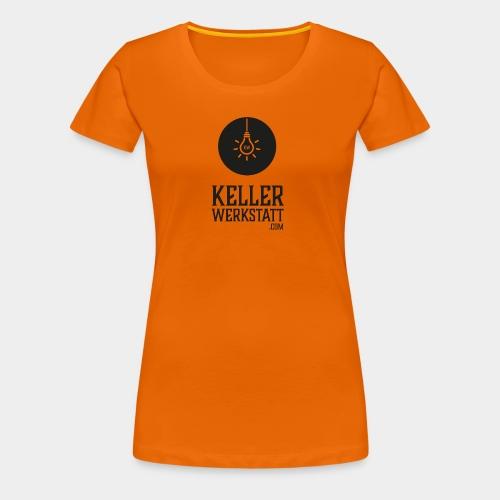 Kellerwerkstatt schwarz - Frauen Premium T-Shirt