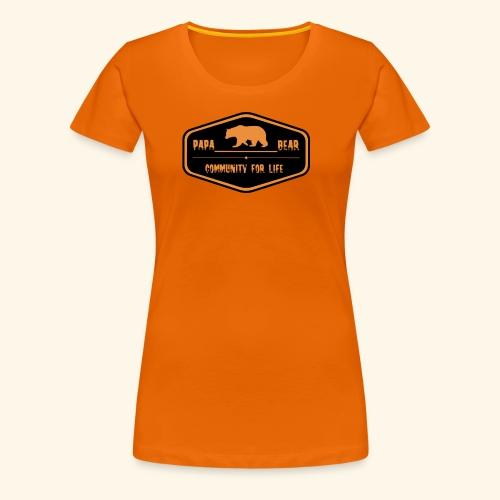 Community Papa - Frauen Premium T-Shirt