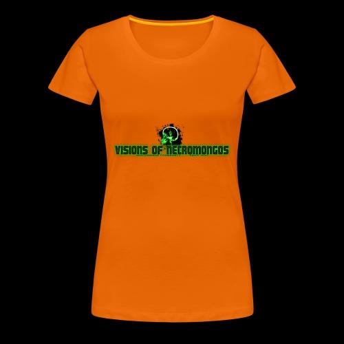 Necromongo Logo ONE - Frauen Premium T-Shirt