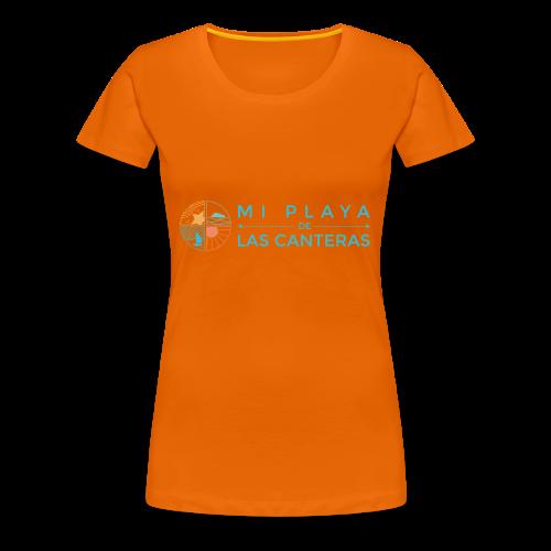 Mi playa de Las Canteras - Camiseta premium mujer