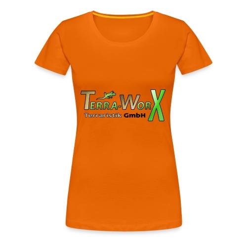 Terra-Worx Logo - Frauen Premium T-Shirt