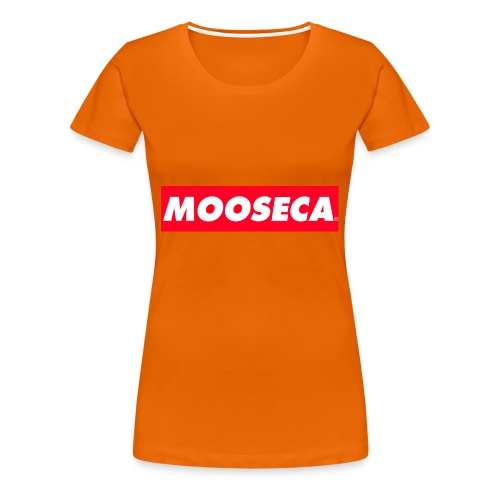 MOOSECA T-SHIRT - Maglietta Premium da donna