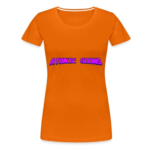 AG_Purple female - Premium T-skjorte for kvinner