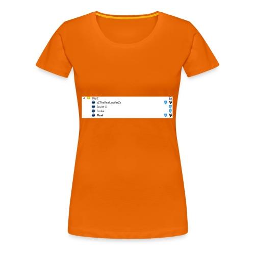 Der Channel - Frauen Premium T-Shirt