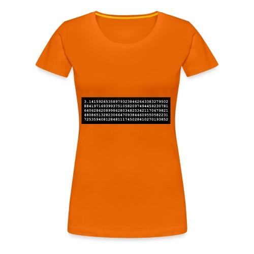 pi 1338542 - Frauen Premium T-Shirt