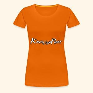 KavalierPirat Schriftzug - Frauen Premium T-Shirt