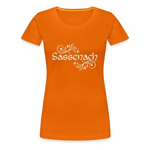 sassenach_weiss - Frauen Premium T-Shirt