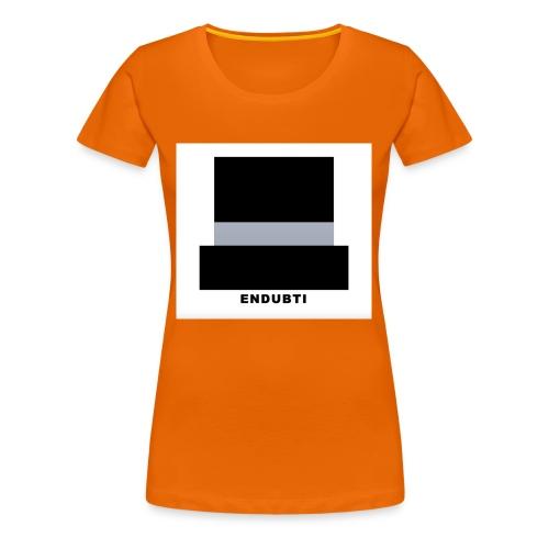 HAT ENDUBTI by ENDUBTI - Vrouwen Premium T-shirt