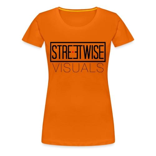 Streetwise Visuals | LONGFIT - Vrouwen Premium T-shirt
