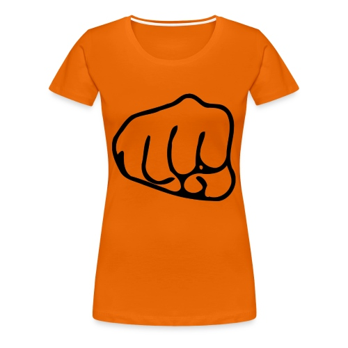 Faustschlag - Frauen Premium T-Shirt