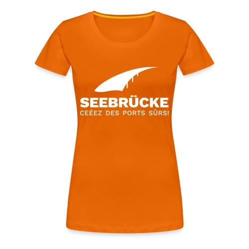 SB Logo FR - Frauen Premium T-Shirt