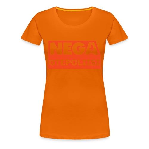 OtePoliisi pinssi iso - Naisten premium t-paita