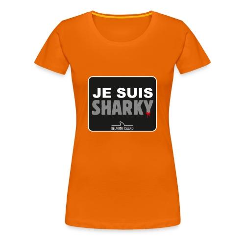 Je suis SHARKY - T-shirt Premium Femme
