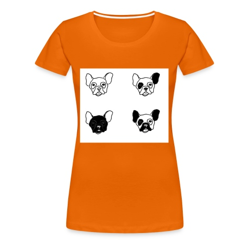 BULLDOGZ - Premium-T-shirt dam