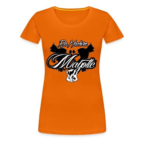 RA HACHIRI - T-shirt Premium Femme