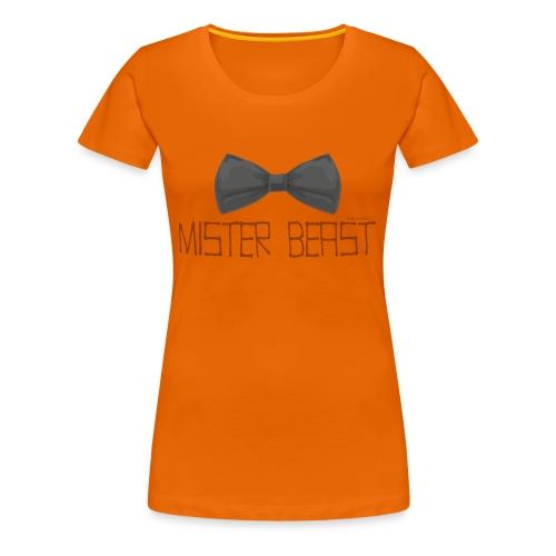 mister beast - Women's Premium T-Shirt
