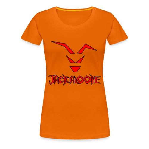 Logo_Schriftzug - Frauen Premium T-Shirt