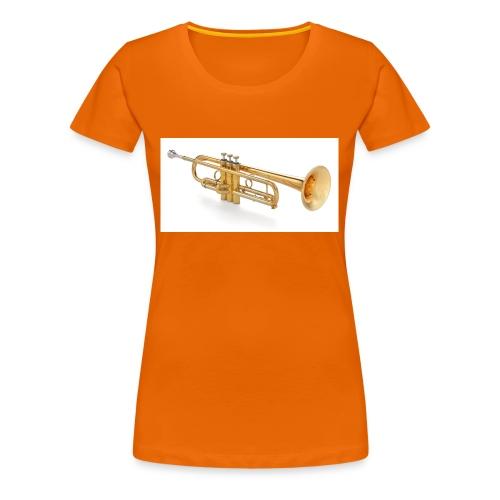 the trumpet - Frauen Premium T-Shirt