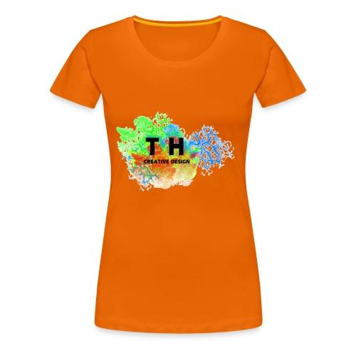 TH CREATIV DESIGN LOGO - Frauen Premium T-Shirt