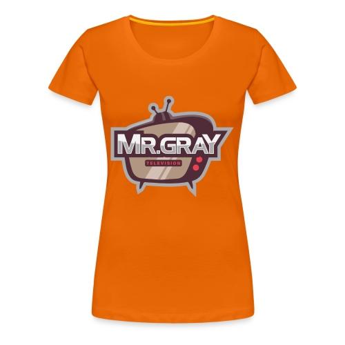 MrGrayTV - Dame premium T-shirt