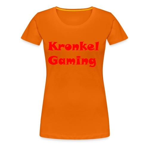 Baseball Cap Kronkelgaming - Vrouwen Premium T-shirt