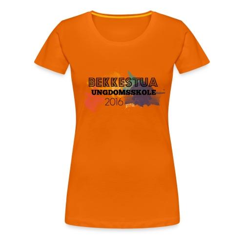 Skolegenser - Premium T-skjorte for kvinner