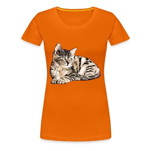Süße Katze - GOutside - Frauen Premium T-Shirt