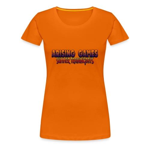 Arising Games Summer Trainingdays [2018] Merch - Frauen Premium T-Shirt