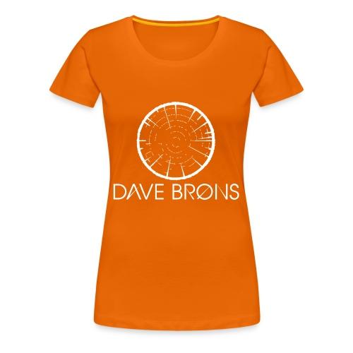 Dave Brons T Shirts logo design - Women's Premium T-Shirt