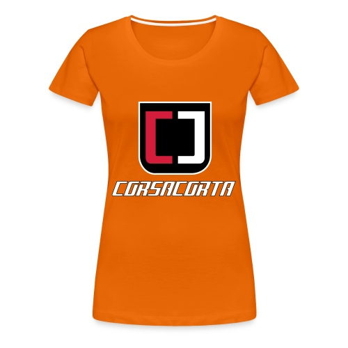 Premium - Corsacorta - Maglietta Premium da donna