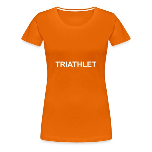 Triathlet Partner - Frauen Premium T-Shirt