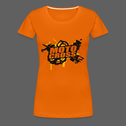 Motocross Supermoto Enduro Vol.I - Frauen Premium T-Shirt