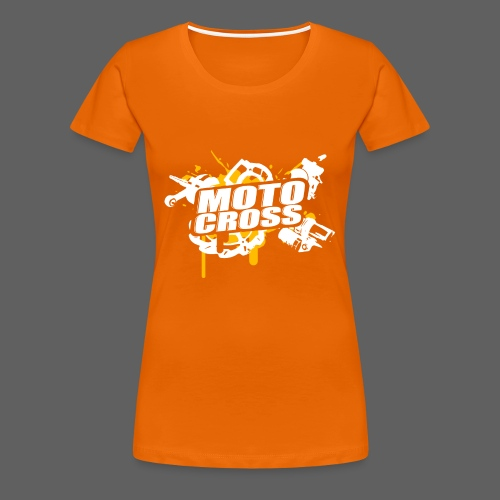 Motocross Supermoto Enduro Vol.I o/w - Frauen Premium T-Shirt