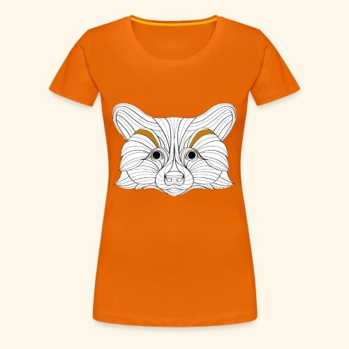 Der Fuchs - Frauen Premium T-Shirt