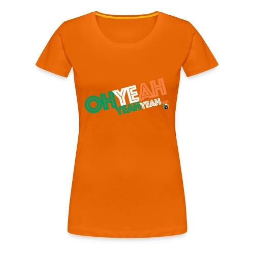 BazzlarOhYeah - Women's Premium T-Shirt