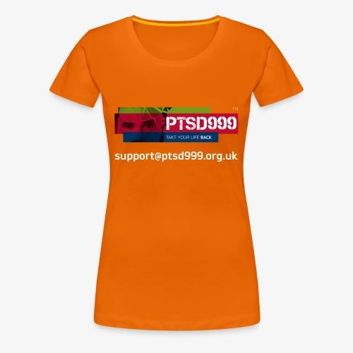 PTSD999 Logo 3 - Women's Premium T-Shirt
