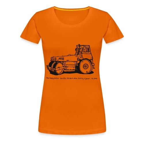 Heavy Roller Black - Women's Premium T-Shirt