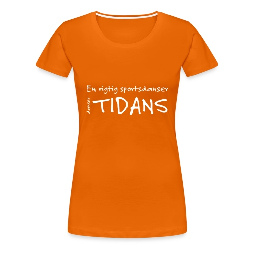 tidans-H - Dame premium T-shirt