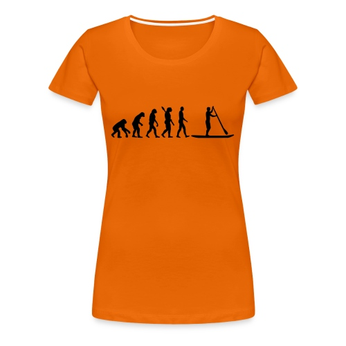 Stand up Evolution - Frauen Premium T-Shirt
