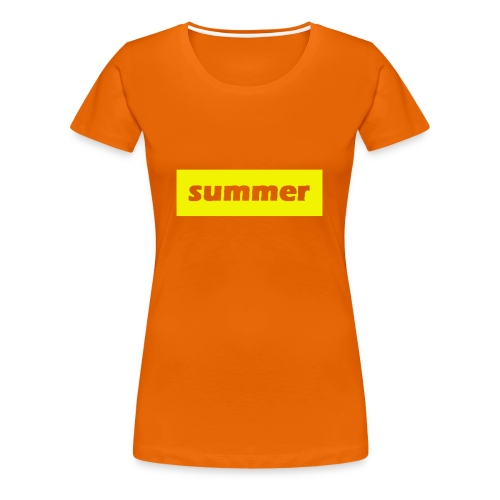 summer - Vrouwen Premium T-shirt