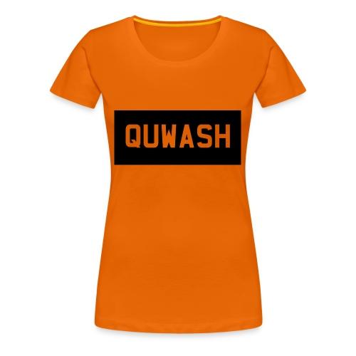 QUWASH - Vrouwen Premium T-shirt