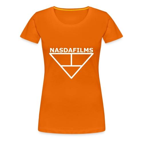 Nasdafilms Hinten - Frauen Premium T-Shirt