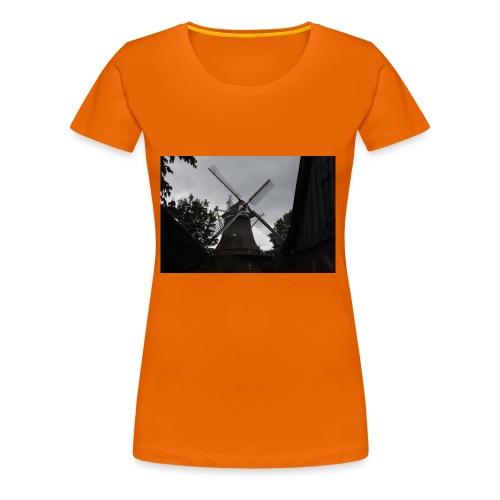 Windmühle - Frauen Premium T-Shirt